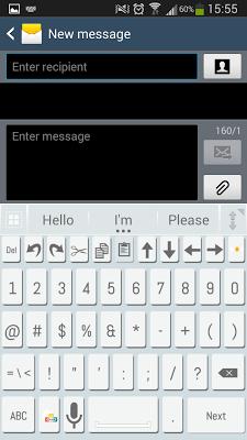 A.I. Type Clean א - screenshot