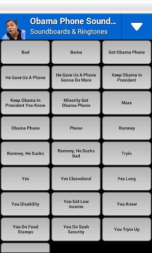 Obama Phone Soundboard