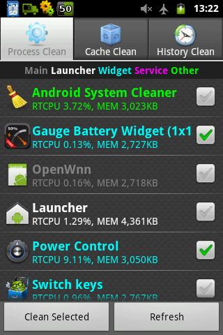 Android System Cleaner - screenshot