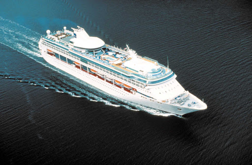 Legend-of-the-Seas-aerial - Legend of the Seas' South Pacific itineraries include Australia, Vanuatu and New Caledonia.