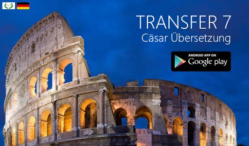 TRANSFER 7 Cäsar Übersetzung