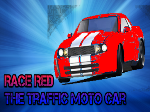 Race Red The Traffic Moto Car