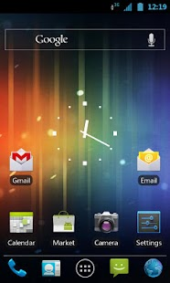 Ice Cream Sandwich CM7 Theme - screenshot thumbnail