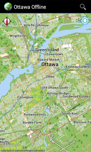Offline Map Ottawa Canada