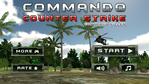 突击队员罢工 战 射击 战争 Commando Strike