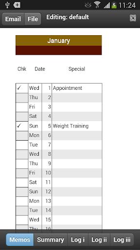 Fitness Planner Mobile