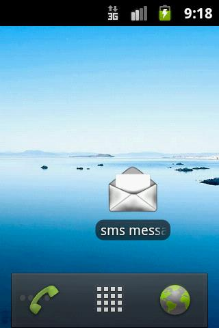 sms messages - screenshot