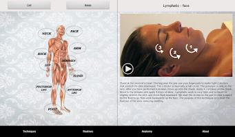 Screenshot of Massage Techniques