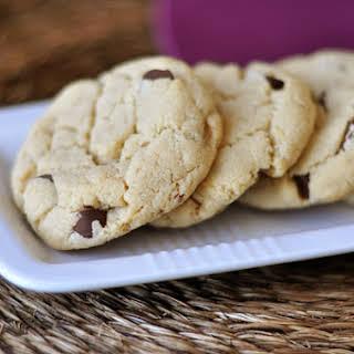 Cream Cheese Chocolate Chip Cookies {Egg-Free}.