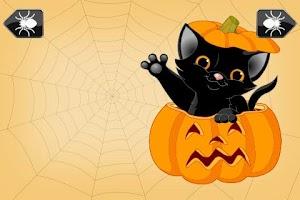 Screenshot of Kids Shape Puzzle Halloween