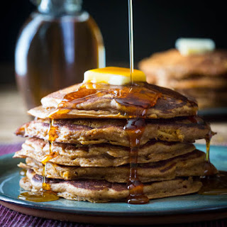 Gingerbread Apple Pancakes.