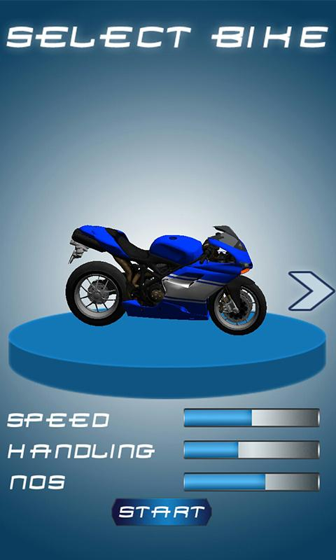 Bike Road Sprint 3D- screenshot