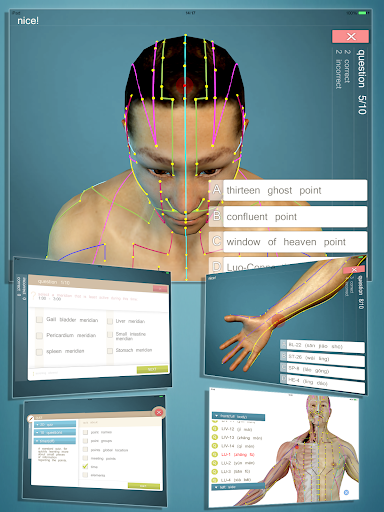 【免費醫療App】Advanced Acupuncture 3D-APP點子