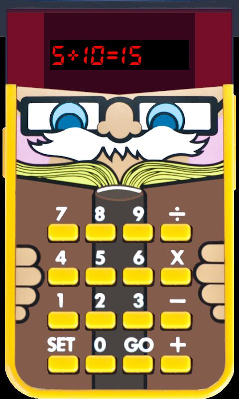 Little Professor math for kids - screenshot
