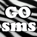 GO SMS Zebra Theme logo