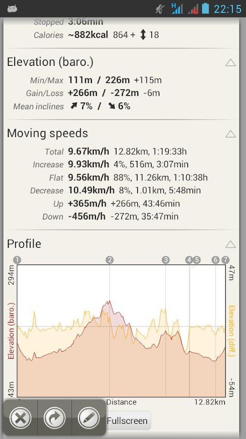 AlpineQuest GPS Hiking (Lite)- screenshot