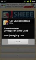 Screenshot of Clay Davis Soundboard Lite
