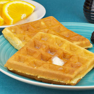 Quick And Crispy Waffles.