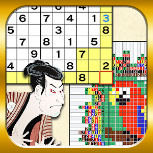 Sudoku&Nonogram Ukiyoe Collect for PC and MAC