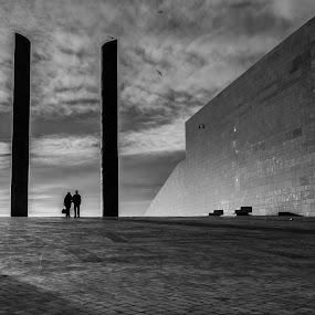 us 2 by Miguel Lapa - Black & White Buildings & Architecture