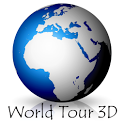 Virtual World Tour 3D icon