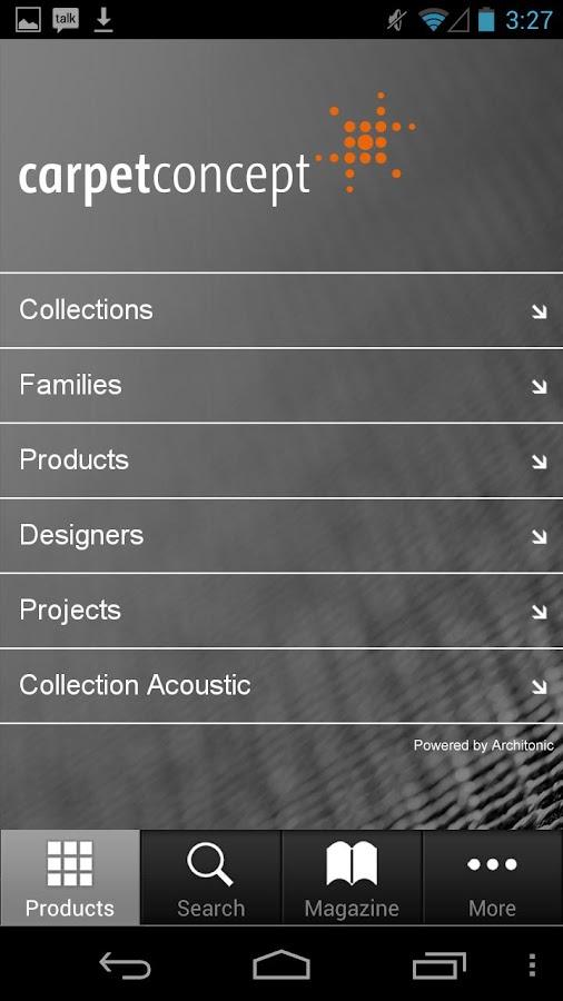 Carpet Concept - screenshot