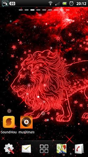 獅子座 動態壁紙