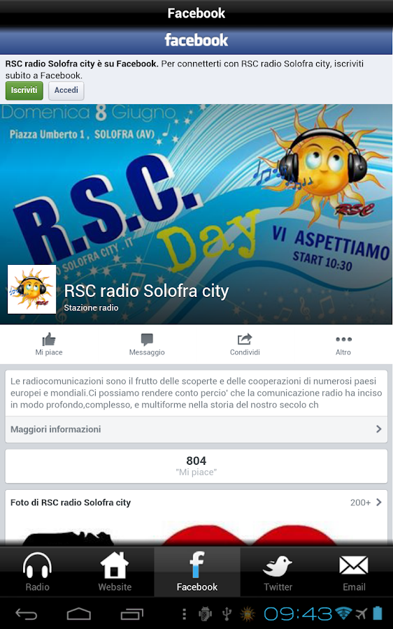 Radio Solofra City - RSC- screenshot