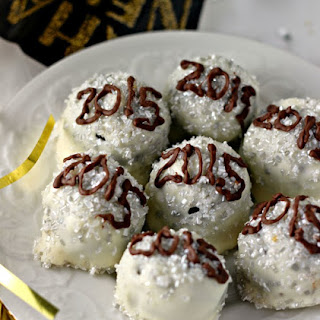 New Year's Eve OREO Cookie Balls