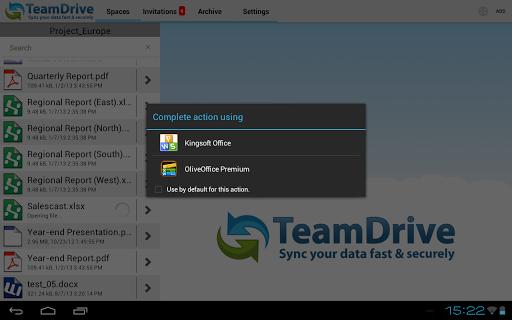 【免費商業App】TeamDrive 3-APP點子