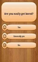 Screenshot of Psychopathy Test