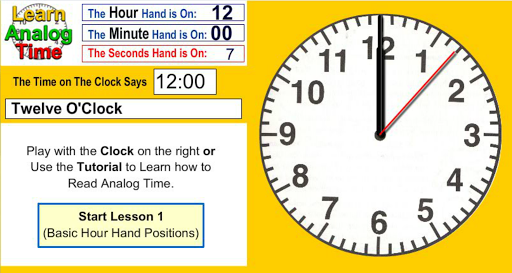 Learn Analog Time