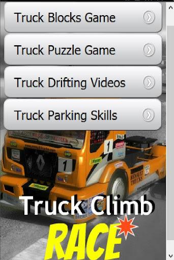 Truck Climb Race Game