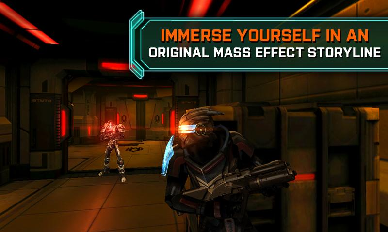 MASS EFFECT™ INFILTRATOR- screenshot