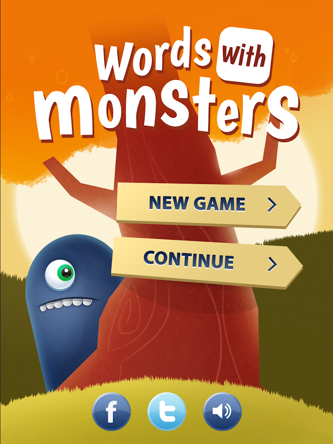 Words With Monsters- screenshot