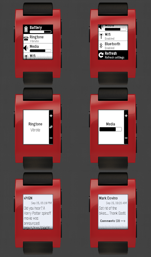 Rocker For Pebble- screenshot