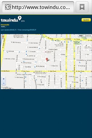 GPS Location and Tracking - screenshot