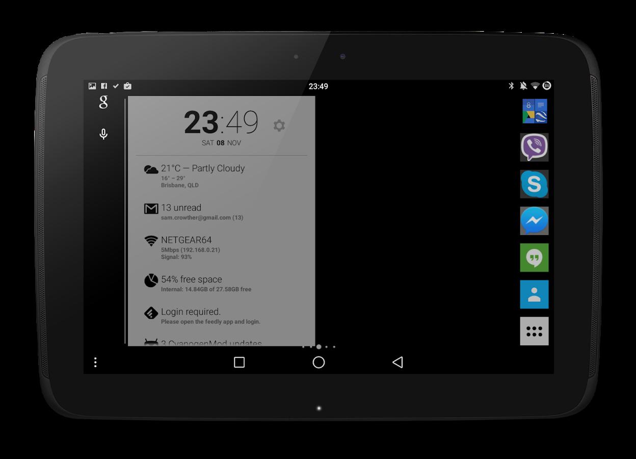192 Square Lite Icon Pack - screenshot