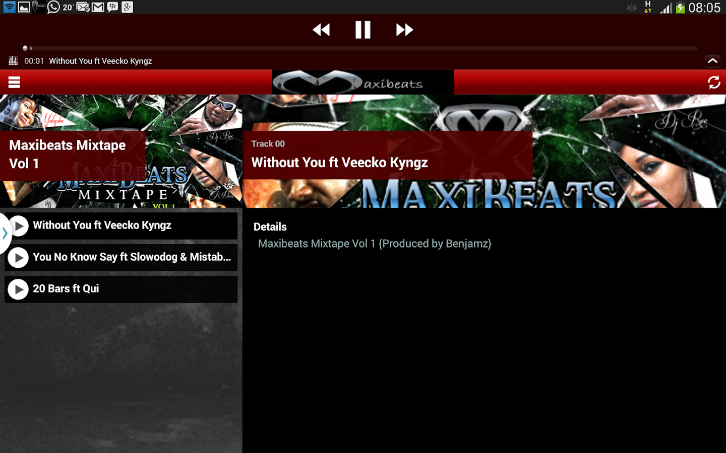 Maxi Beats- screenshot