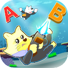 Shoot down words in sea Free icon