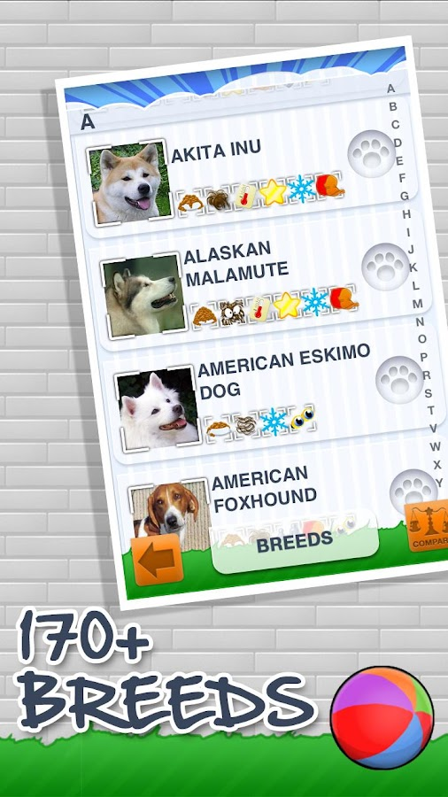 Dog Encyclopedia: Breeds+Facts- screenshot
