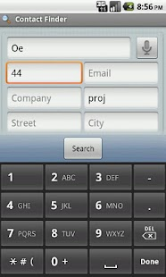 Contact Finder - screenshot thumbnail