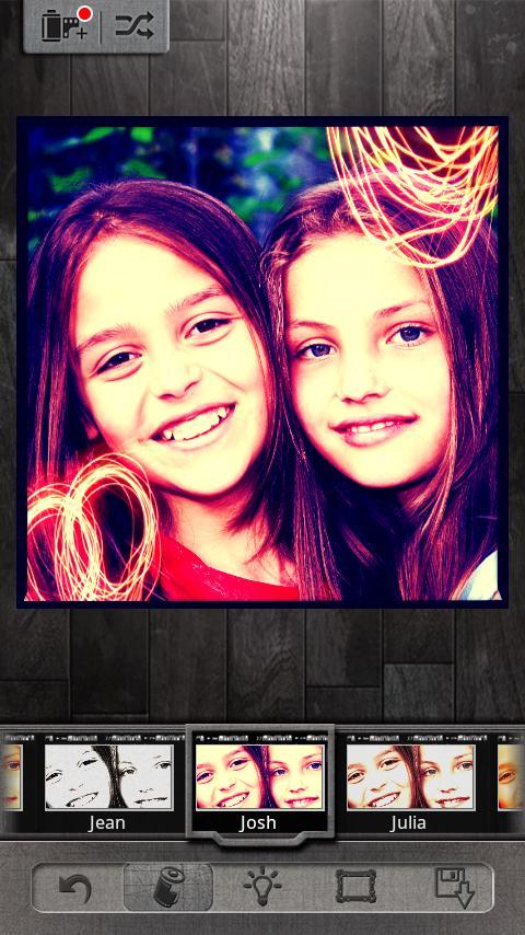 Pixlr-o-matic- スクリーンショット