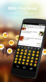 Turkish for GO Keyboard- Emoji Screenshot 2