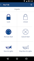 Screenshot of OnStar RemoteLink
