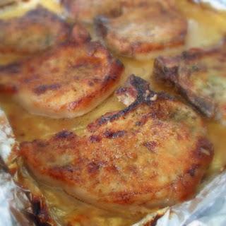 Oven Baked Breaded Pork Chops Recipe