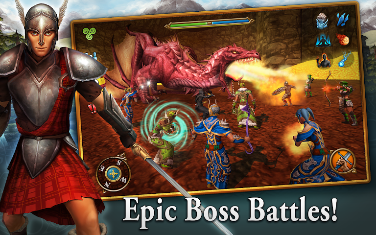 android 3D MMO Celtic Heroes Screenshot 13