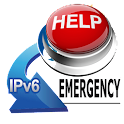 IPV6 Adhoc Emergency  Message icon