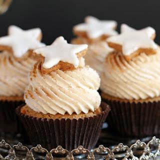 Cinnamon Star Cupcakes.