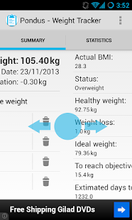 Pondus - Weight Tracker - screenshot thumbnail